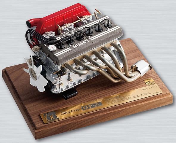 1/6スケールエンジンモデル GT-R S20