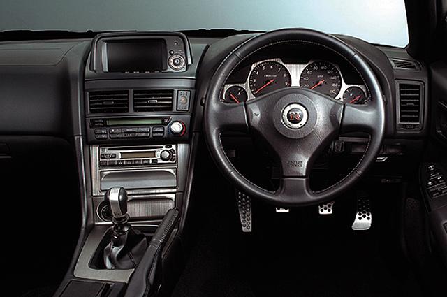 R34 GT-R インパネ