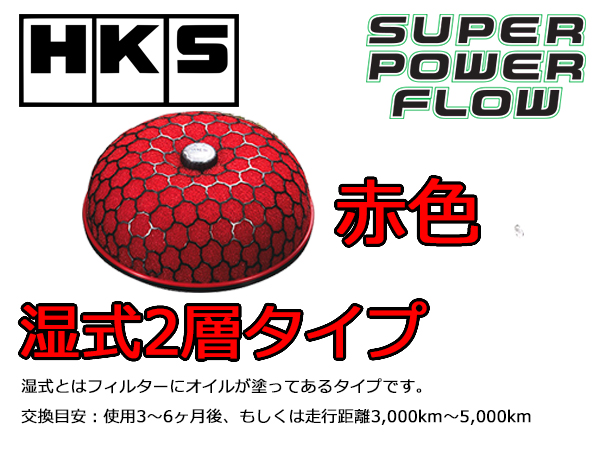 HKSパワーフロー赤