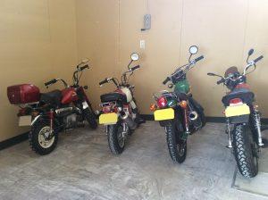 バイク用車庫