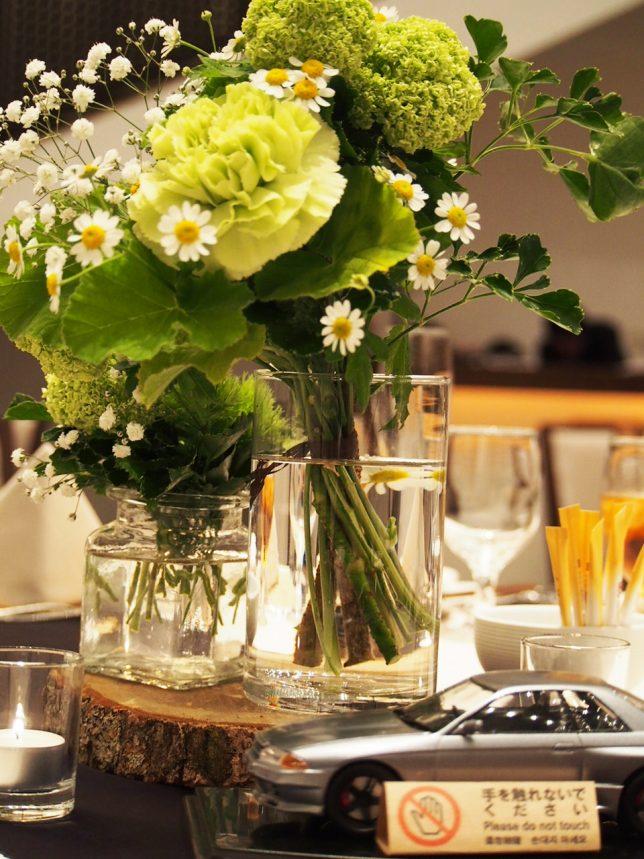 結婚式 テーブル