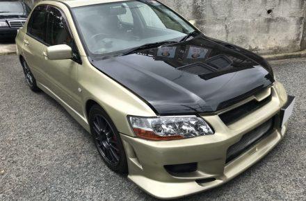三菱/ランサー/エボ7/GTA/CT9A