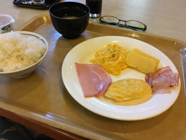 ルートイン 朝食