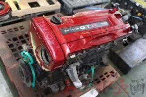 3840302-2 ジャンク品 RB26 ベア エンジン 05Uブロック スカイラインGT-R V-spec BNR34 前期