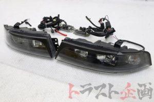 3947111 DEPO 4灯ヘッドライト 左右セット ランサー GSRエボリューション6 CP9A