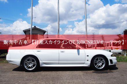 日産スカイラインGT-R/BCNR33/オーテック