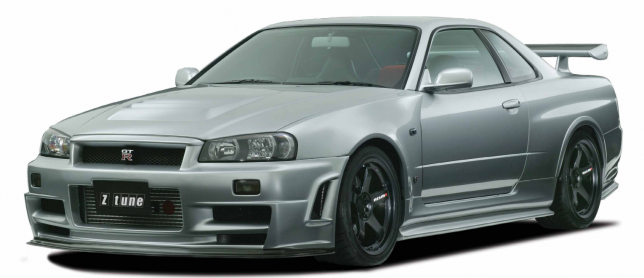 BNR34 GT-R Z-tune