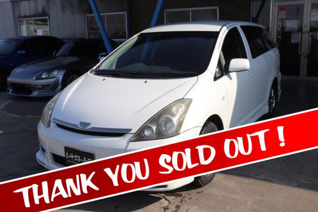 【1100005】トヨタ ウィッシュ X ZNE10G sold