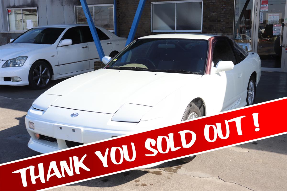 【5622】日産 180SX タイプX RPS13 sold